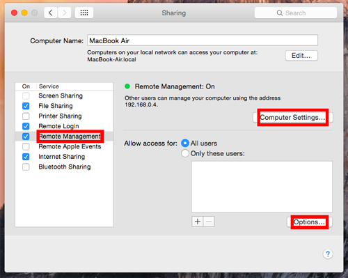 Remote Access Hack Mac